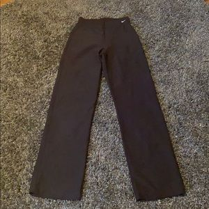 BRAND NEW Nike high-rise,zippered boot cut pants!